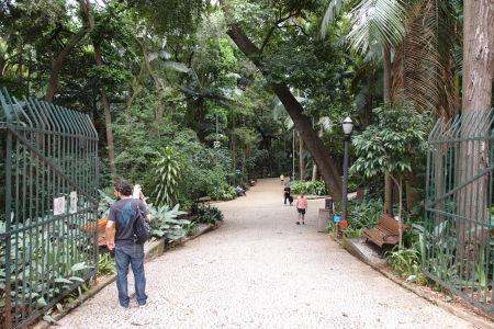 Avenida Paulista - Park Tenente Siqueira Campos