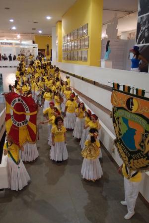 Múzeum afrobrazílskej kultúry - Vystúpenie tanečníkov