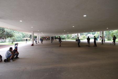 Park Ibirapuera - skateboardisti