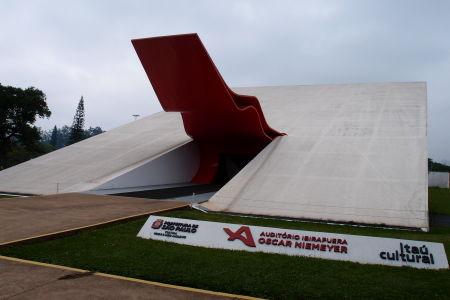 Park Ibirapuera - Poslucháreň hudobných predstavení