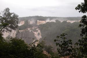 Vodopády Iguazú z brazílskej strany