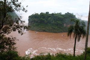 Pohľad na ostrov San Martín
