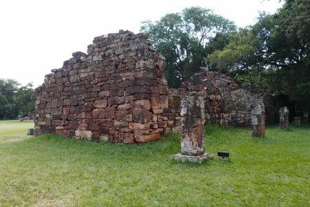 Ruiny jezuitskej misie San Ignacio Miní