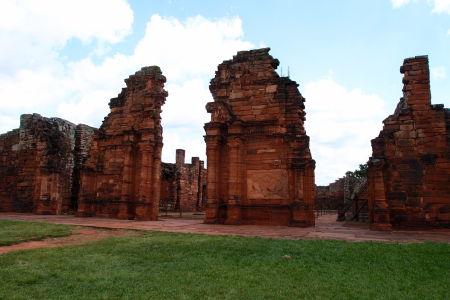 Ruiny jezuitskej misie San Ignacio Miní - Kostol