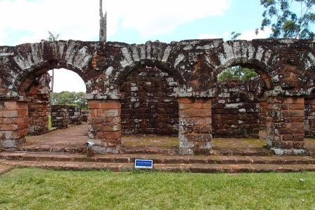 Ruiny jezuitskej misie Trinidad - Ubytovacie zariadenia pre Indiánov