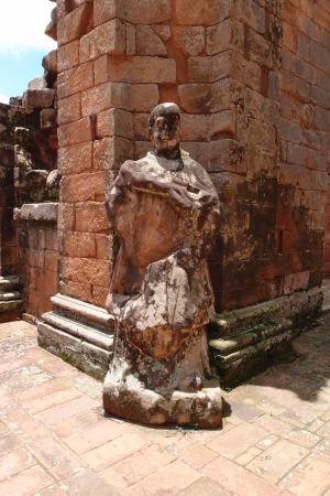 Hlavný chrám v Trinidad - Socha apoštola