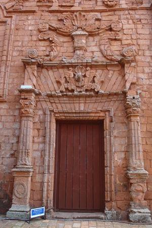 Hlavný chrám v Trinidad - Jeden z portálov