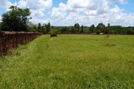 Ruiny jezuitskej misie Trinidad - Zvyšok ohradenia