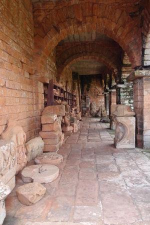 Ruiny jezuitskej misie Trinidad - Lapidárium