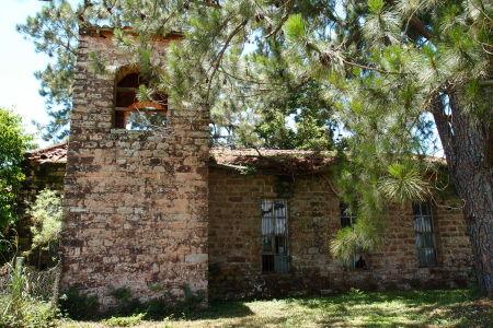 """Ruiny jezuitskej misie Trinidad - """"Moderný"""" kostol"""
