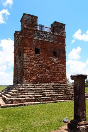 Ruiny jezuitskej misie Trinidad - Zvonica