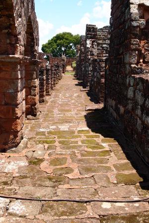 Ruiny jezuitskej misie Trinidad