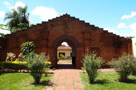 Vstupná brána k misii Jesús de Tavarangue