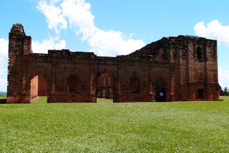Misia Jesús de Tavarangue - Hlavný chrám