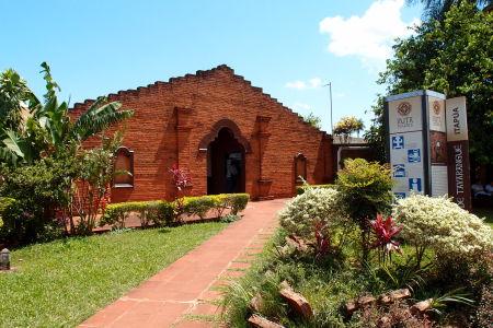 Posledný pohľad na vstupnú bránu a informačné centrum