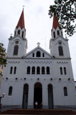 Katedrála v Posadas cez deň