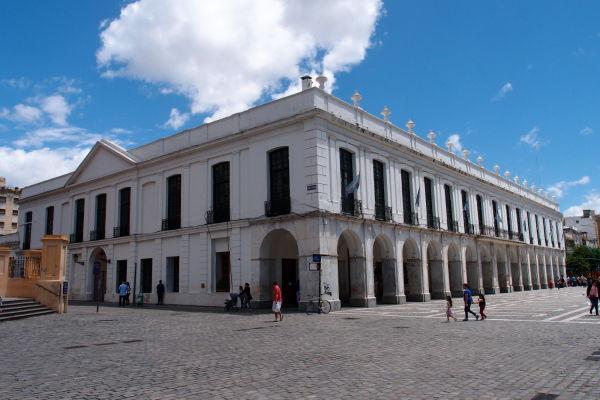 El Cabildo - Budova bývalej radnice na námesti San Martín v Córdobe, dnes Múzeum histórie mesta