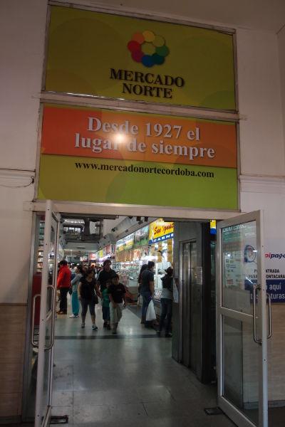 Mestská tržnica Mercado Norte v Córdobe