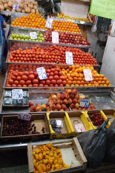 Mestská tržnica Mercado Norte v Córdobe - Sem môžete zamieriť za čerstvým ovocím a zeleninou