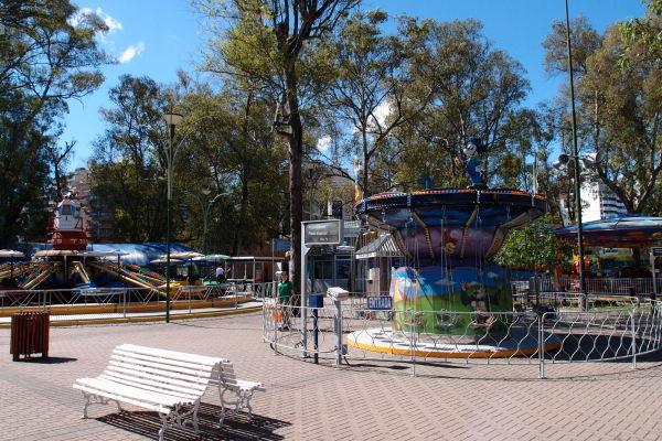 Zábavý park neďaleko námestia Plaza España v Córdobe