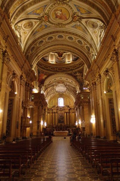 Katedrála Nanebovstúpenia Panny Márie v Córdobe - Hlavná loď
