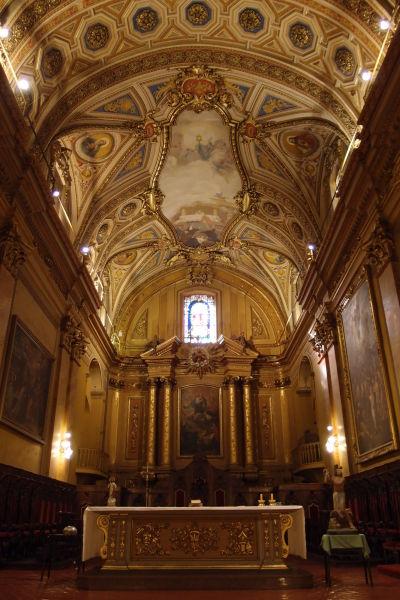 Katedrála Nanebovstúpenia Panny Márie v Córdobe - Presbytérium a hlavný oltár
