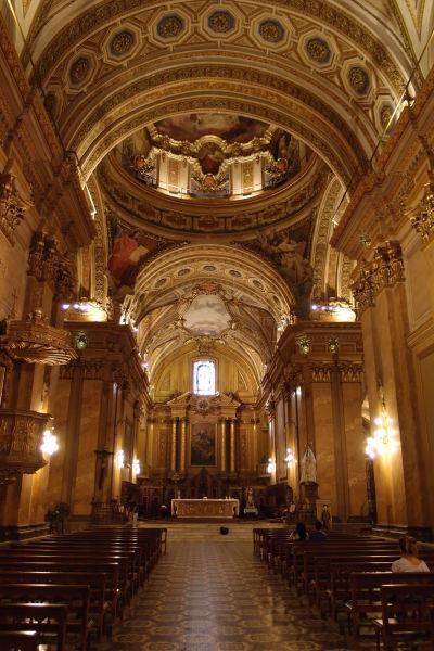 Katedrála Nanebovstúpenia Panny Márie v Córdobe - Kríženie lodí, presbytérium a hlavný oltár