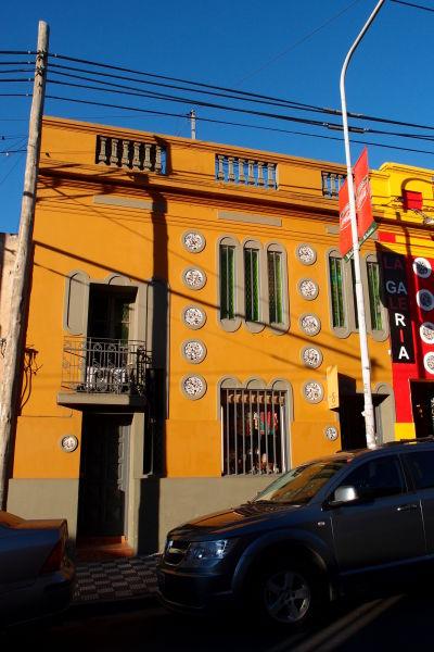 Farebné domy vo štvrti Güemes v Córdobe