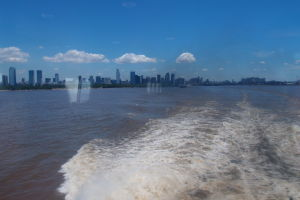 A Buenos Aires mizne v diaľke...