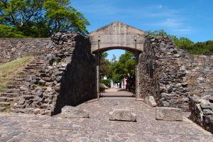 Brána Portón de Campo v pôvodnom opevnení