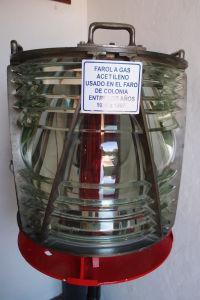Reflektor, ktorý bol v majáku používaný v priebehu 20. storočia