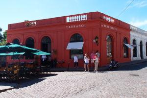 Farebné budovy na Plaza Mayor