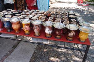 Nádobky na tradičný juhoamerický nápoj yerba mate