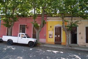 Farebné domčeky v okolí historického centra