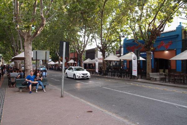 Santiago de Chile - Kluby a bary v štvrti Bellavista