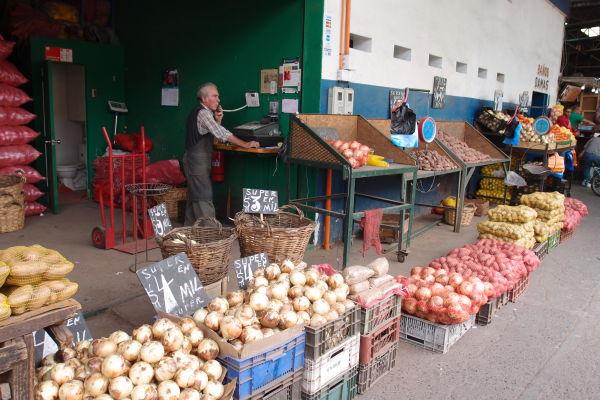 La Vega - najväčšia mestská tržnica v Santiagu de Chile