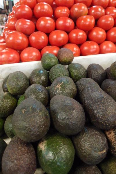 La Vega - najväčšia mestská tržnica v Santiagu de Chile - výber je obrovský