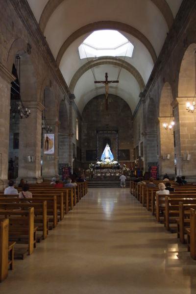 Dominikánsky chrám Santo Domingo v Santiagu de Chile
