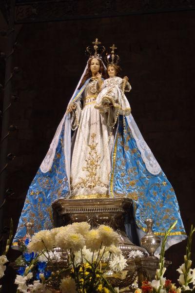 Dominikánsky chrám Santo Domingo v Santiagu de Chile - Madonna