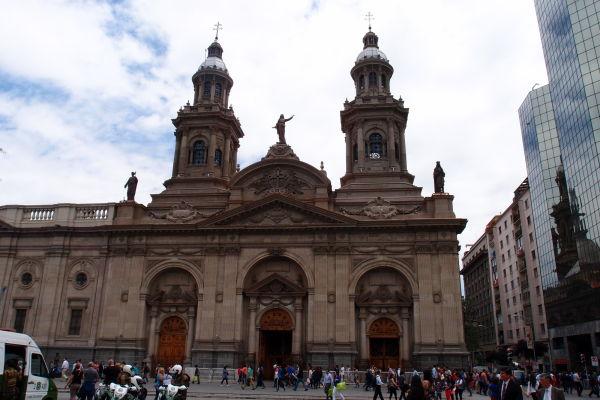 Metropolitná katedrála v Santiagu de Chile