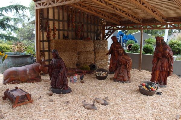 Betlehem na kopci San Cristóbal v Santiagu
