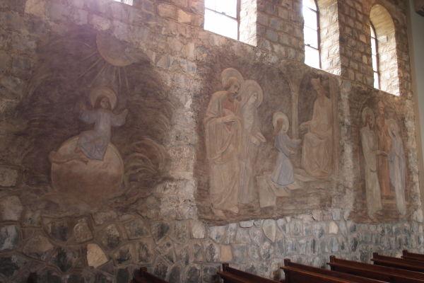 Kostolík vo svätyni Nepoškvrneného počatia na kopci San Cristóbal