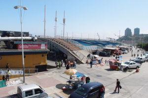 Rybí trh Caleta Portales vo Valparaíse
