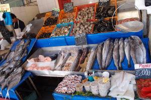 Rybí trh Caleta Portales