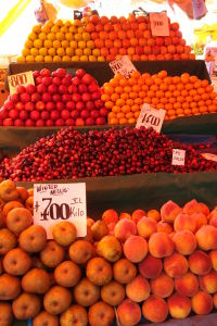 Ovocie na tržnici