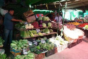 Tržnica s ovocím a zeleninou