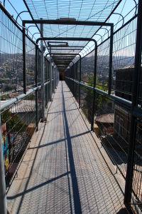 Most z veže výťahu