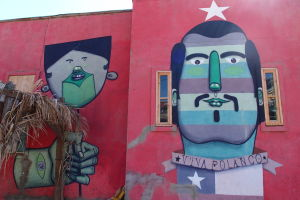 Graffiti v Polancu