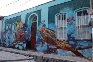 Graffiti vo Valparaíse