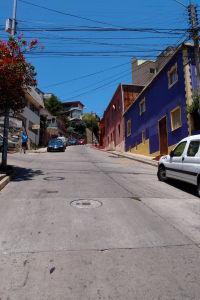 Farebné domy vo štvrti Bellavista